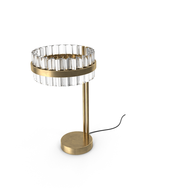Saturno LED Table Lamp by Baroncelli PNG & PSD Images
