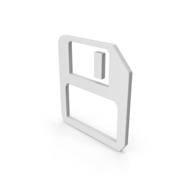 Save Symbol PNG & PSD Images