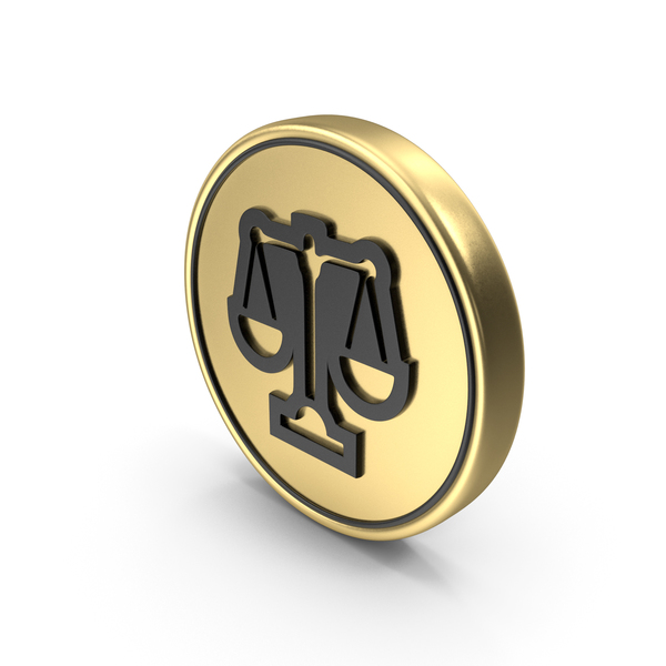Scales Justice Balance Coin Logo Icon PNG & PSD Images