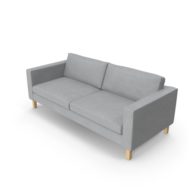 Scandinavian 2 Seater Sofa PNG & PSD Images