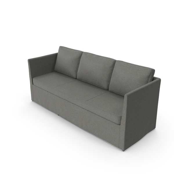Scandinavian 3 Seater Sofa PNG & PSD Images