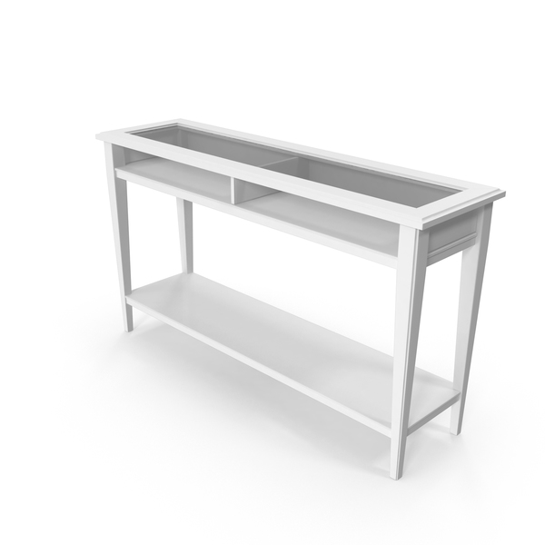 Scandinavian Console Table PNG & PSD Images