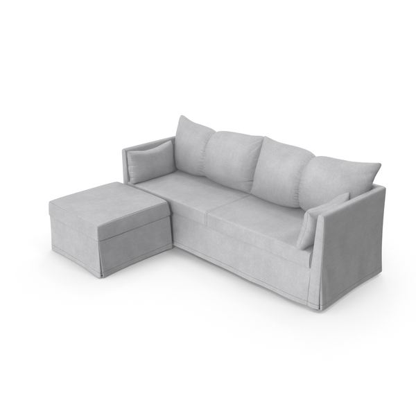 Scandinavian Corner Sofa PNG & PSD Images