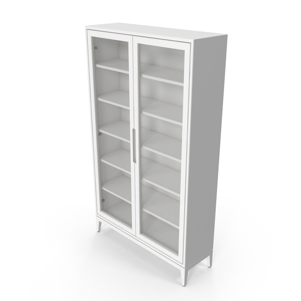 Scandinavian Display Cabinet PNG & PSD Images