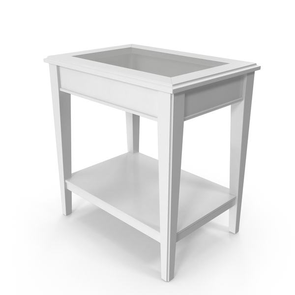 Scandinavian Side Table PNG & PSD Images