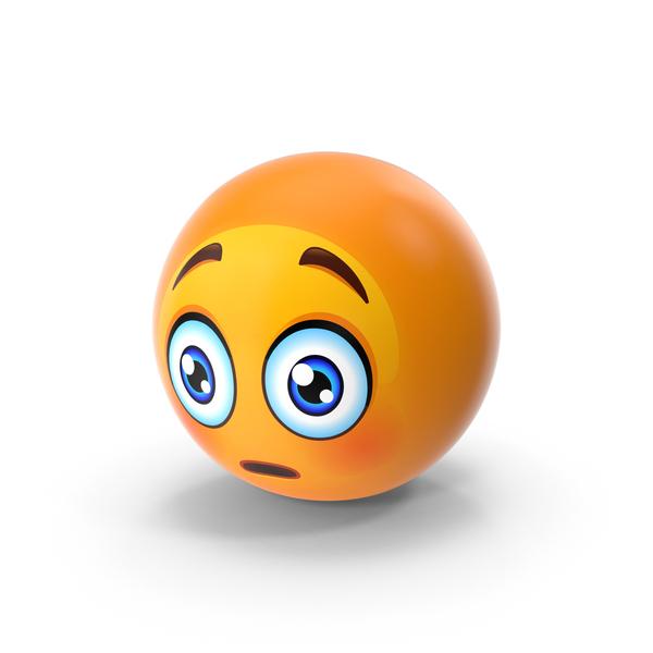 Scared Face Emoji PNG & PSD Images