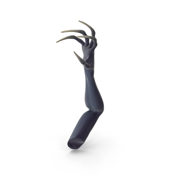 Zombie: Scary Creature Arm PNG & PSD Images