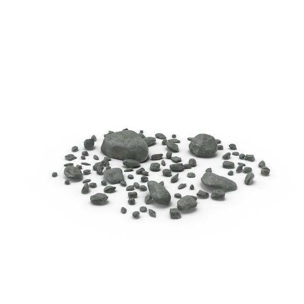 Scattered Rocks PNG & PSD Images
