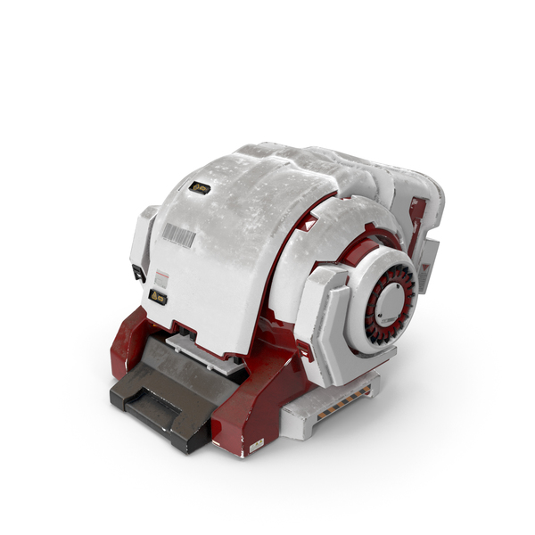 Science Fiction Device: Sci-fi Engine PNG & PSD Images