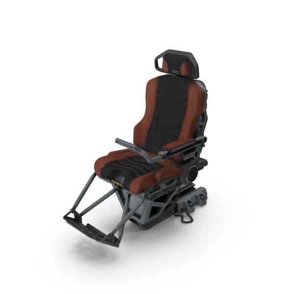 Sci-fi Pilot Seat PNG & PSD Images