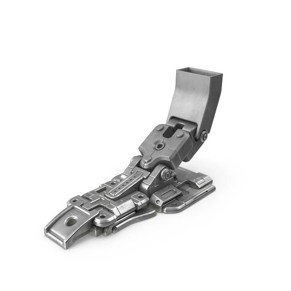 Sci Fi Robot Leg Object