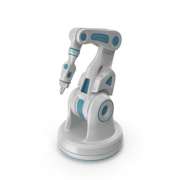 Sci-Fi Robotic Arm Laboratory Manipulator PNG & PSD Images