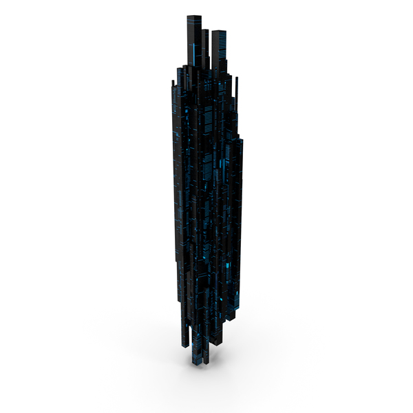 Sci Fi Skyscraper PNG & PSD Images