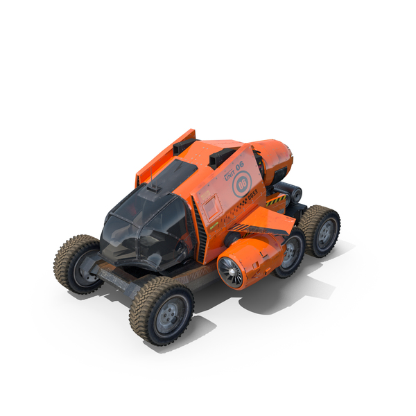 Planetary Rover: Sci Fi Spacecraft & Buggy PNG & PSD Images