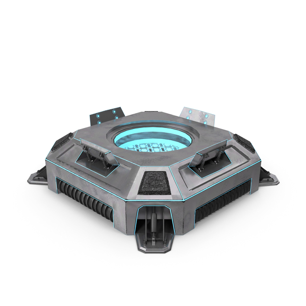 Sci fi Teleporter PNG & PSD Images