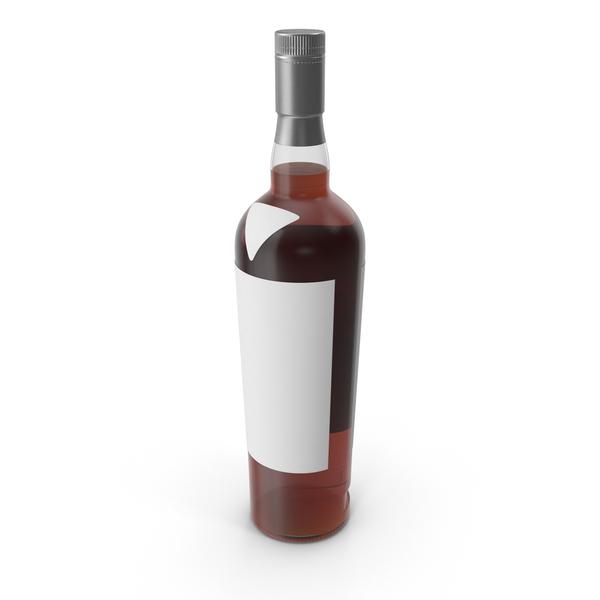 Scotch Bottle Mockup PNG & PSD Images