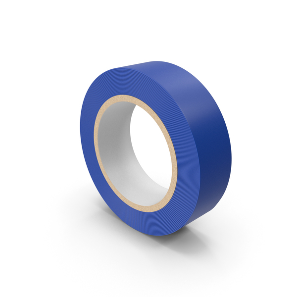 Scotch Tape Blue PNG & PSD Images