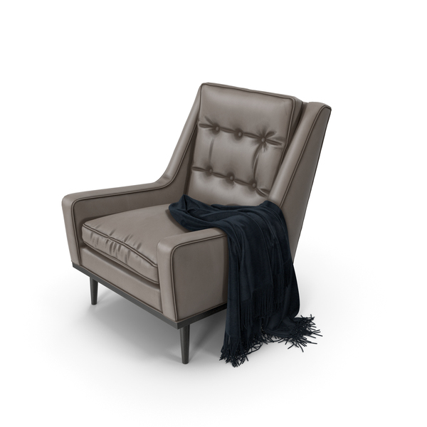Scott Retro Armchair PNG & PSD Images