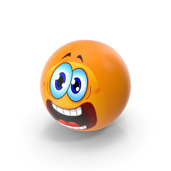 Screaming Emoji PNG & PSD Images