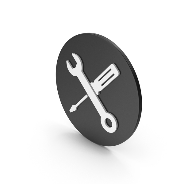 Logo: Screwdriver And Wrench Icon PNG & PSD Images