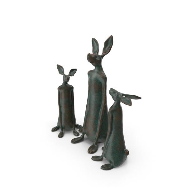 Sculpture Rabbit PNG & PSD Images