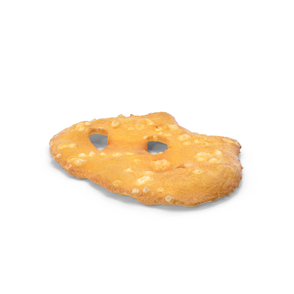 Sea Salt Pretzel Thin Cracker PNG & PSD Images