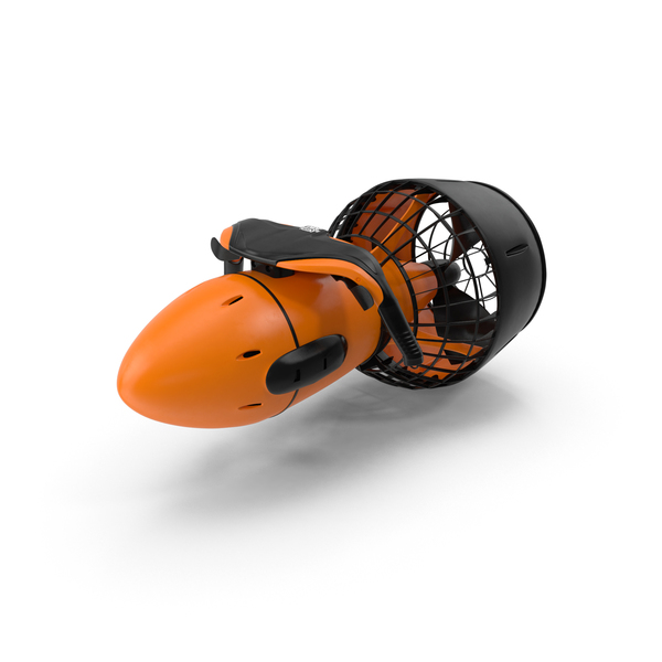Diver Propulsion Vehicle: Sea Scooter DPV PNG & PSD Images
