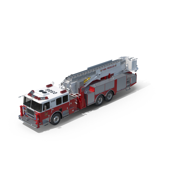 Engine: Seagrave Fire Truck PNG & PSD Images