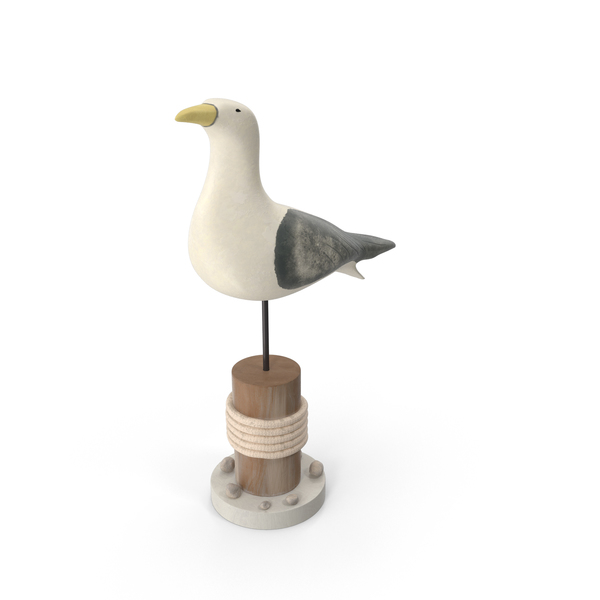 Seagull Statue PNG & PSD Images