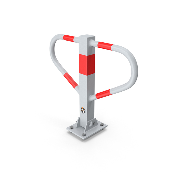 Security Folding Parking Post PNG & PSD Images