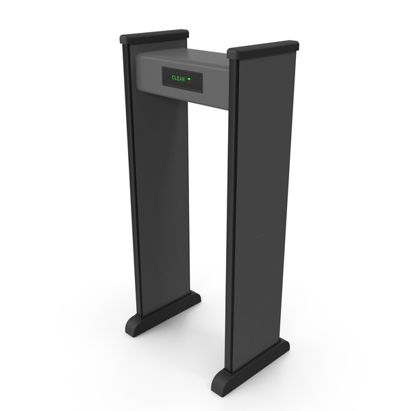 Security Metal Detector PNG & PSD Images