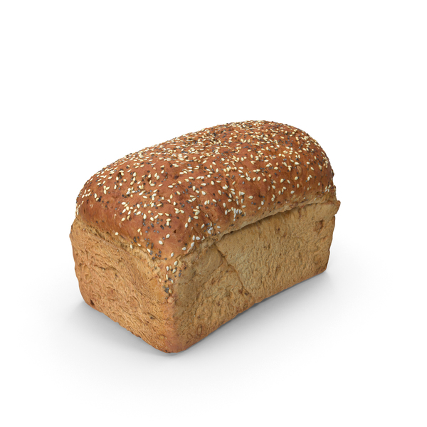 Of Bread: Seeded Loaf PNG & PSD Images