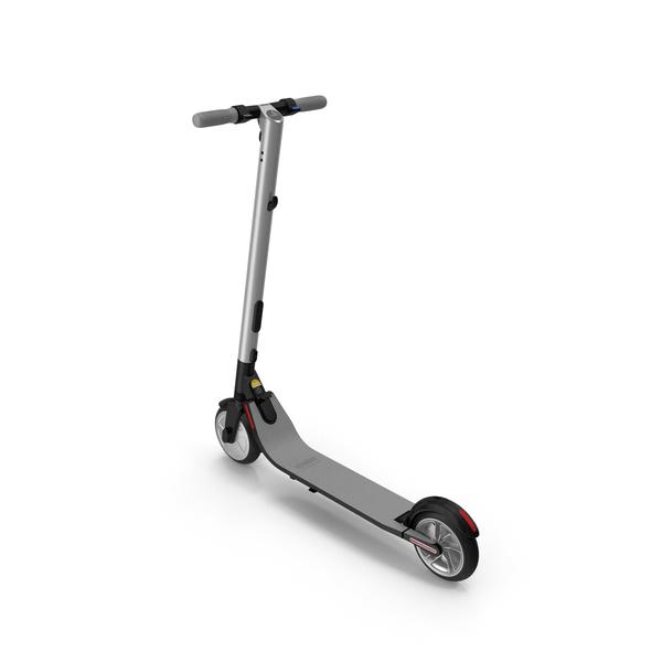 Kick Scooter: Segway Electric KickScooter ES2 PNG & PSD Images