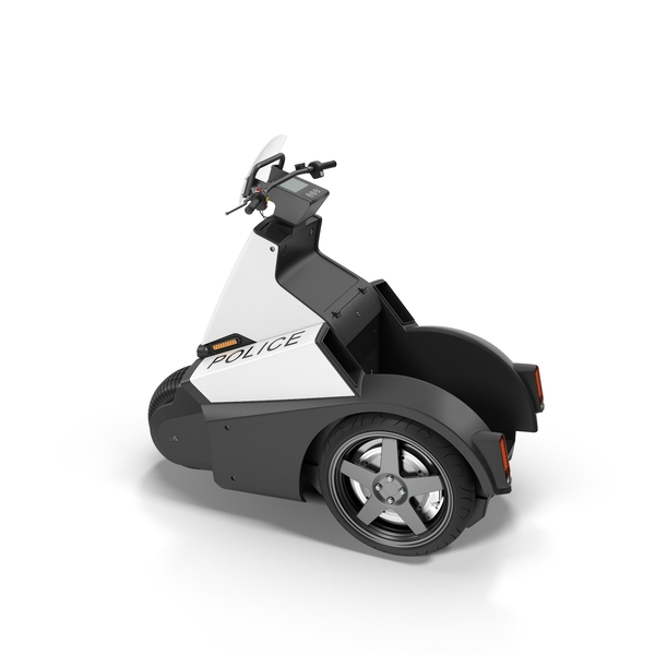 Two Wheel Scooter: Segway SE-3 Patroller PNG & PSD Images