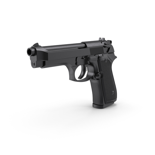 Semi-Automatic Pistol Object