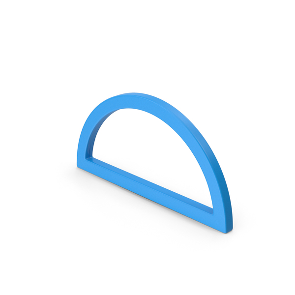Computer Icon: Semicircle Blue PNG & PSD Images