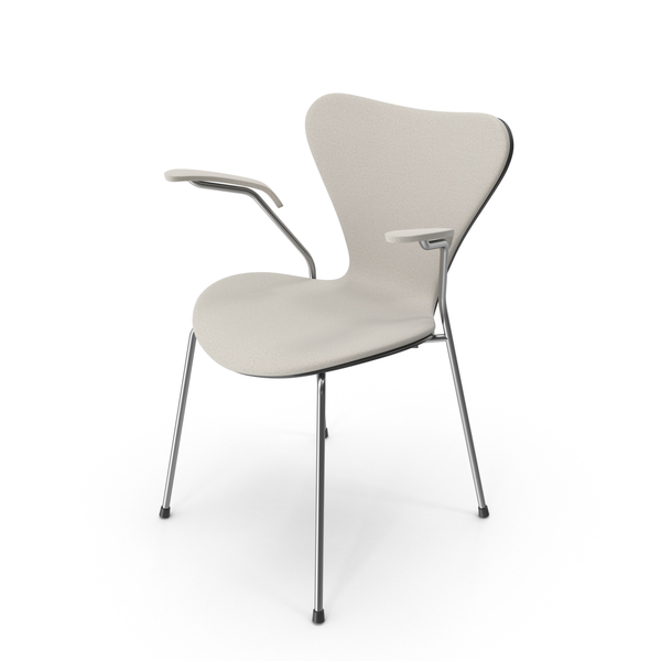 Arm: Series 7 Beige Chair PNG & PSD Images