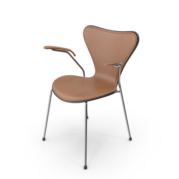 Arm: Series 7 Leather Chair PNG & PSD Images