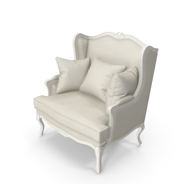Seven Sedie Elegant Classic Style Armchair PNG & PSD Images