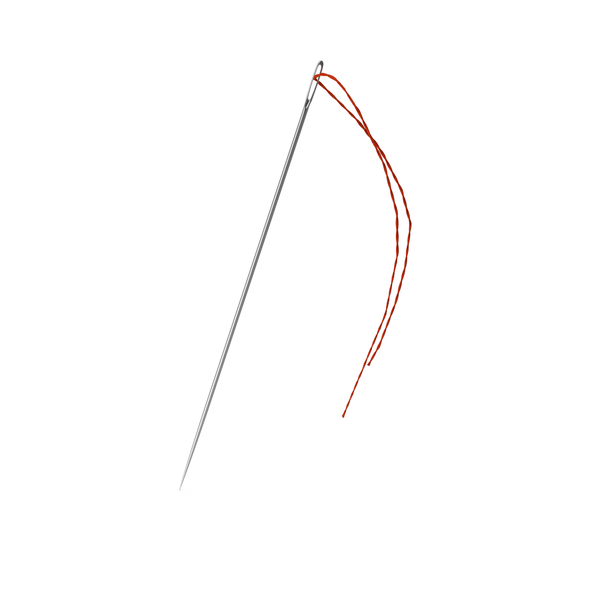 Sewing Needle with Thread PNG & PSD Images