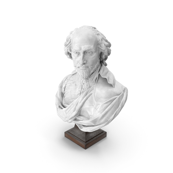 Shakespeare Bust PNG & PSD Images