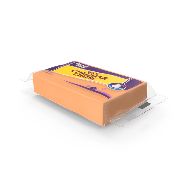 Sharp Cheddar Cheese PNG & PSD Images