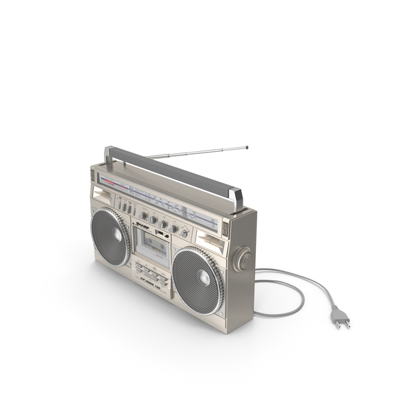 Sharp GF8989 Radio Cassette Recorder PNG & PSD Images