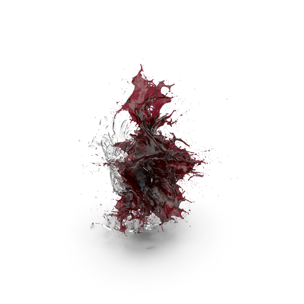 Shattered Glass with Wine PNG & PSD Images