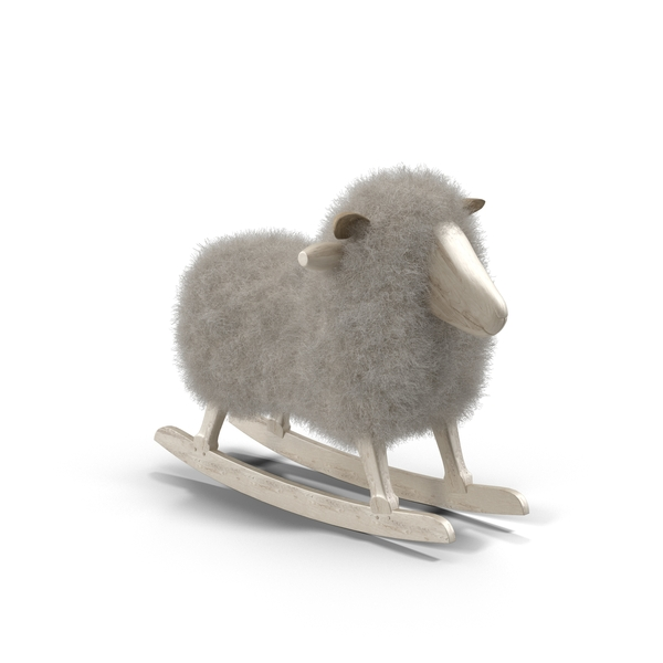 Rocking Horse: Sheep Rocker PNG & PSD Images