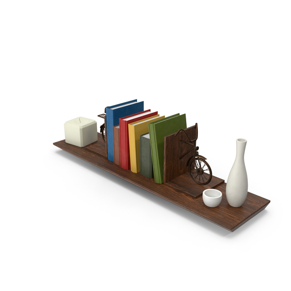 Shelving Decor PNG & PSD Images