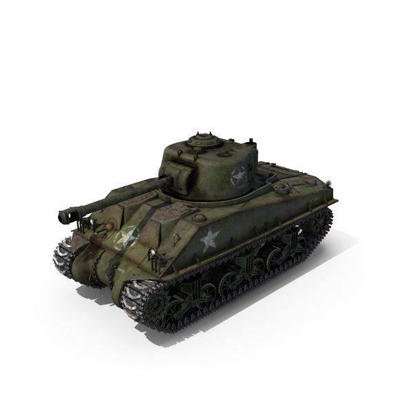 Sherman Tank Object