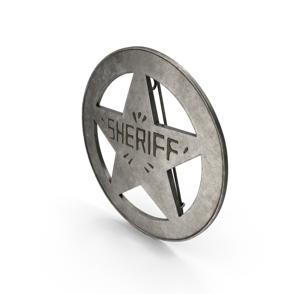 Sherrif Badge Object