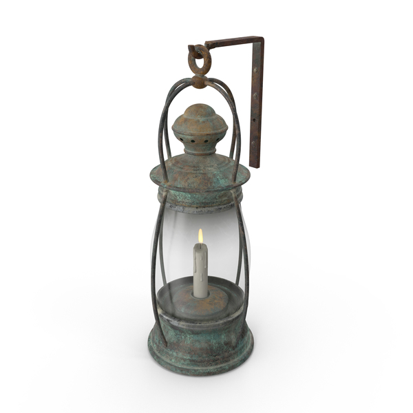 Ship Candle Lantern Object