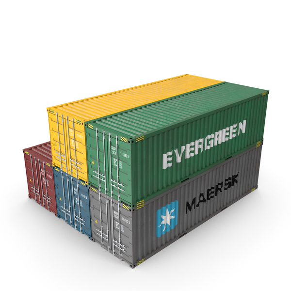Shipping Containers PNG & PSD Images